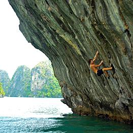 Rock Climbing and Kayaking