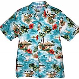 """Hawaiian shirts so John can """"dress like a local"""""""