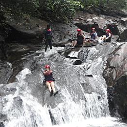 Stream Slides at Kitulgala Adventure Park