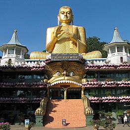 Visit to Dambulla Cave Temple