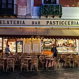 Some Delicious Gelato & Espresso