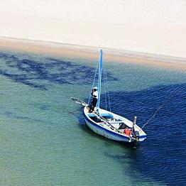 Saltwater fishing in the Bazaruto Archipelago
