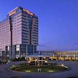 Hotel Room for Layover in Atlanta - Hilton Atlanta Airport