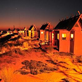 Two nights at the !Xaus Lodge in the Kalahari