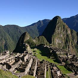 Entrance fee for Machu Picchu & Huayna Picchu