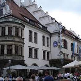 Dinner on hallowed ground... Hofbrahaus Munich!