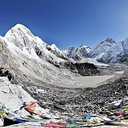Day 11: Trek Gorakshep (16,868 ft) to Kala Patthar (18,192 ft) to Pheriche (13,845 ft)
