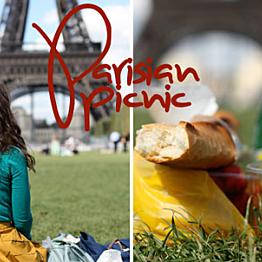 Champagne picnic in Paris