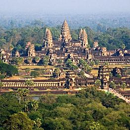 3 day passes to Angkor Wat