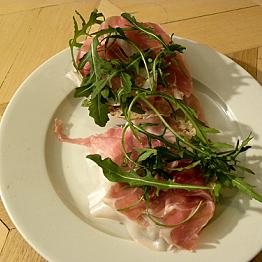 Dinner in Parma