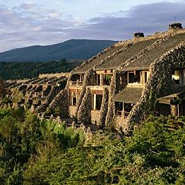 A night's stay at the Ngorongoro Serena Safari Lodge