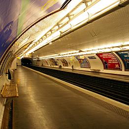 Tube trips in Paris