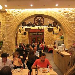 Dinner at La Tavernaccia