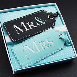 Mr. & Mrs. Luggage Tags