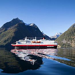 A Voyage Aboard the Hurtigruten