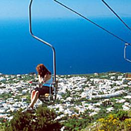 Chair Lift to Anacapri