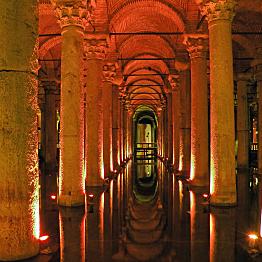 Basilica Cistern Tour