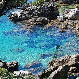 Kayaking in the Adriatic Sea