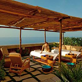 Outdoor Cabana Couples Massage