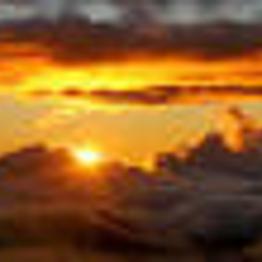 Sunrise Bike Ride down a Volcano!