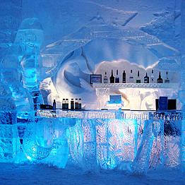 Hôtel de Glace Ice Bar