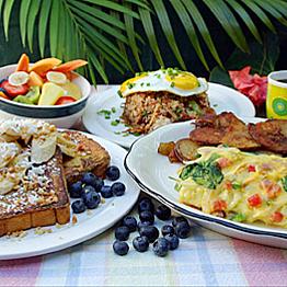 Breakfast at Kihei Cafe