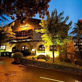 Romantic dinner at Zuberoa