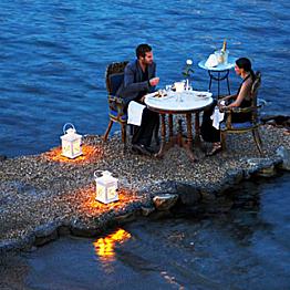 Dinner in Mykonos