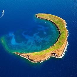 Snorkeling at Molokini Crater