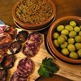 Dinner at Petritegi