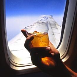 In-flight cocktails