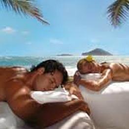 Couples Massage on the Beach