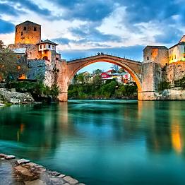 Night in Mostar