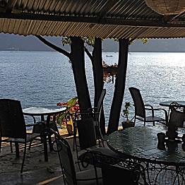 Dinner at Pokhara Beach Club