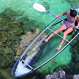 """""""Sea""""-Thru Kayaking Tour"""