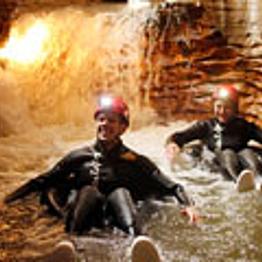 Adventure Through Ruakuri Cave