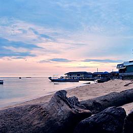 Beach hotel stay