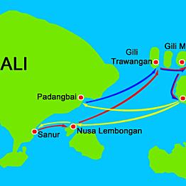 Speedboat to Lombok