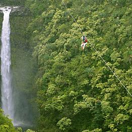 Akaka Falls Zipline Course