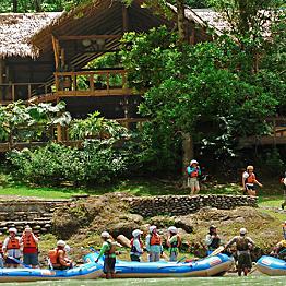 Rafting Adventure to Lodge