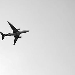 Flight to our Destination