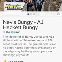 Nevis Bungy
