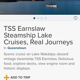 TSS Earnslaw Steamship Lake Cruise