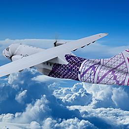 Puddle jumper flights between the islands