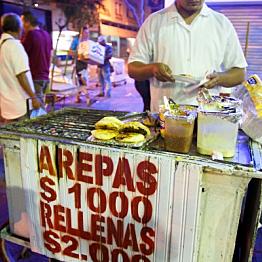 Street Cart Arepas