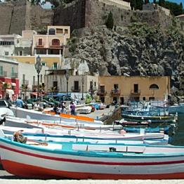 Boat ride around Sicily
