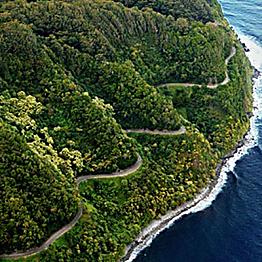 Driving the Road to Hana - Rental Car