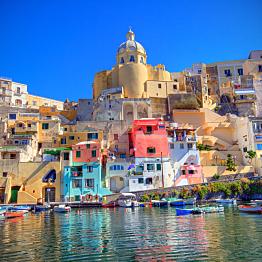 Flight from Sardinia to Naples
