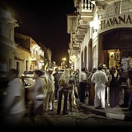 Drinks at Cafe Havana