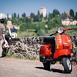 Vespa Tour of Tuscan Hills